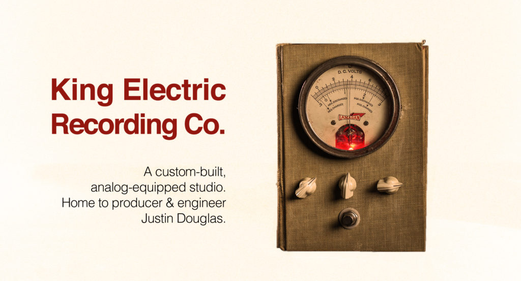 Austin Recording Studio King Electric Recording Co